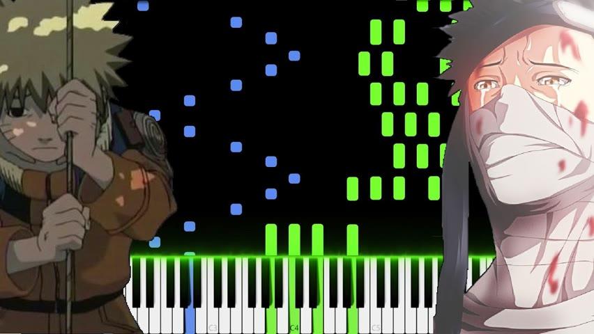 Naruto Sad Soundtrack Piano Medley [Piano Tutorial]