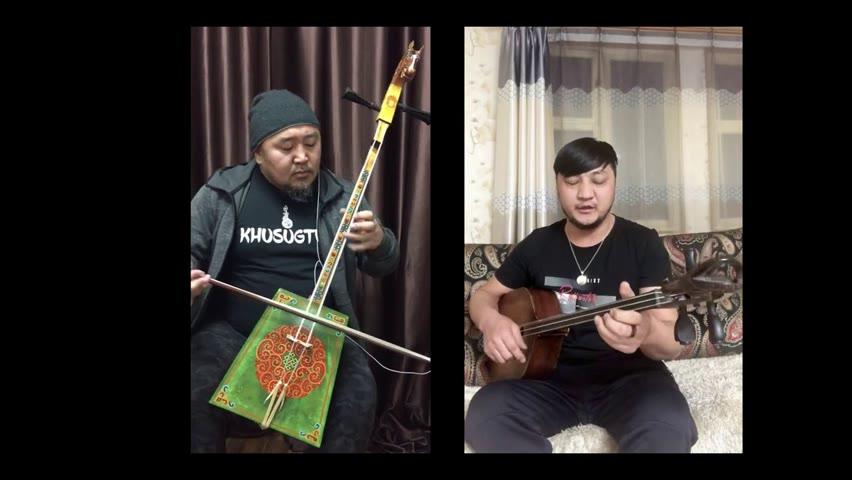 Sorhugtani Behi hatan with khoomii singer Lkhamragchaa