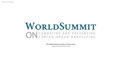 Weltgipfel zur Bekämpfung und Prävention von Organraub   17.09.21   Teil 1