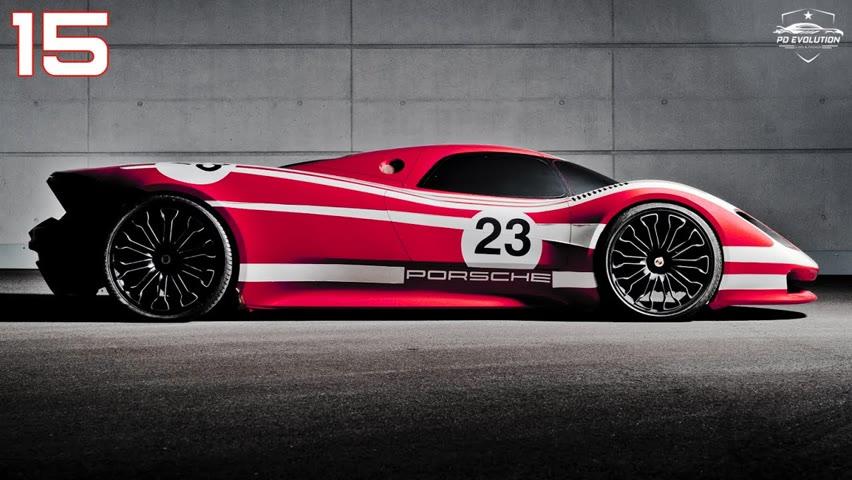 Top 15 Coolest PORSCHE Concept Cars Ever!