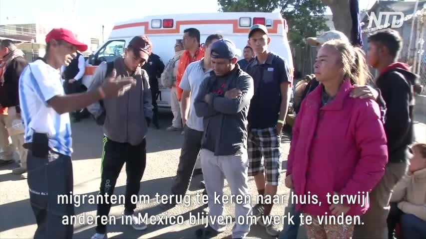 Some Migrants Decide to Return Home_Dutch subs