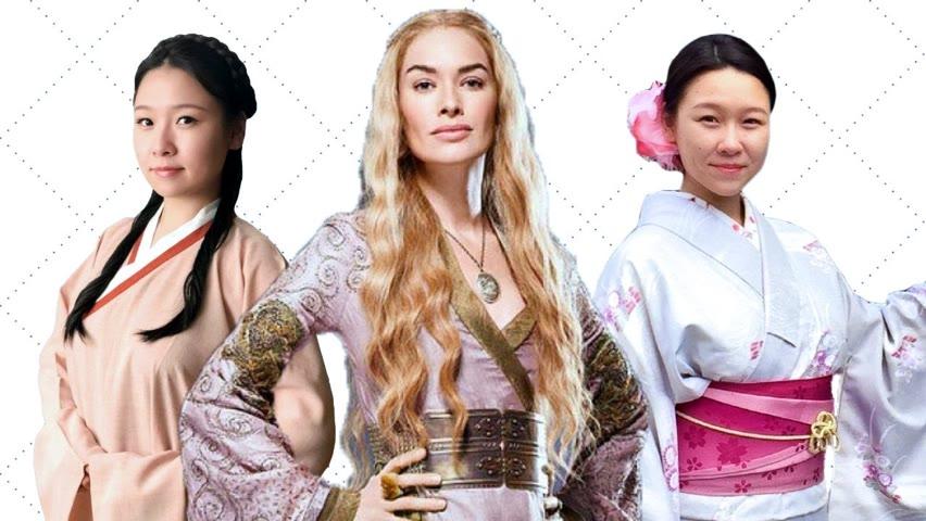 Hanfu, Kimono, and Hidden Messages in Game of Thrones' Costume Design
