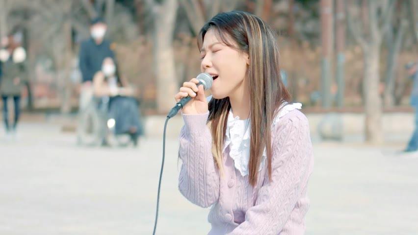 이시은 - '다시 오나 봄' 서울숲 라이브 클립