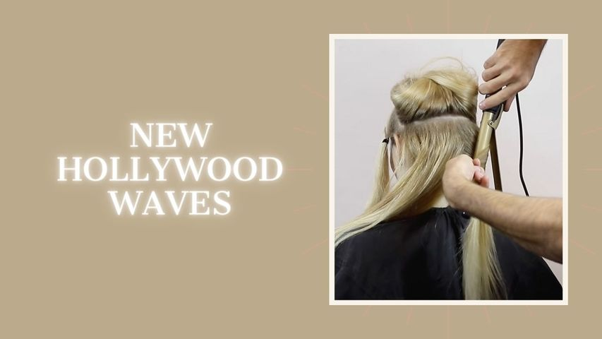 New hollywood waves.