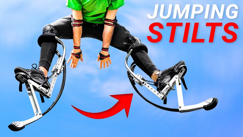 How Difficult are Jumping Stilts?