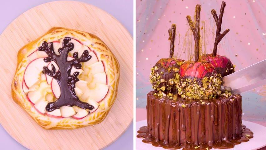 So Yummy Chocolate Apple Cake Decorating Ideas | So Tasty Cake Compilation