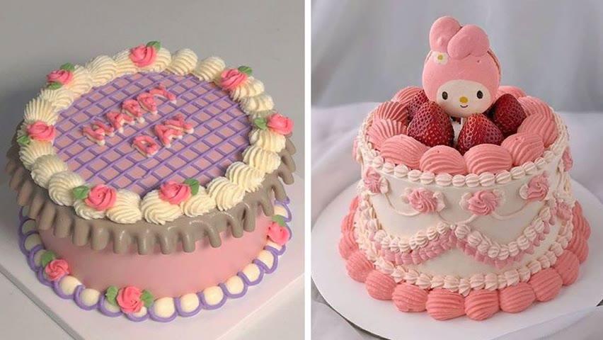 So Yummy Birthday Cake Decorating You'll Love | So Yummy Cake Tutorials | Perfect Cake