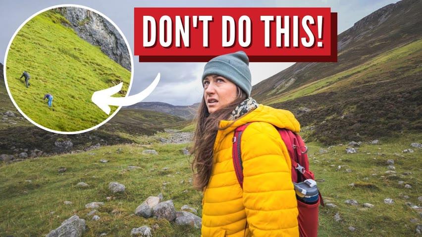 Dangerous Hiking! NC500 Scotland Road Trip