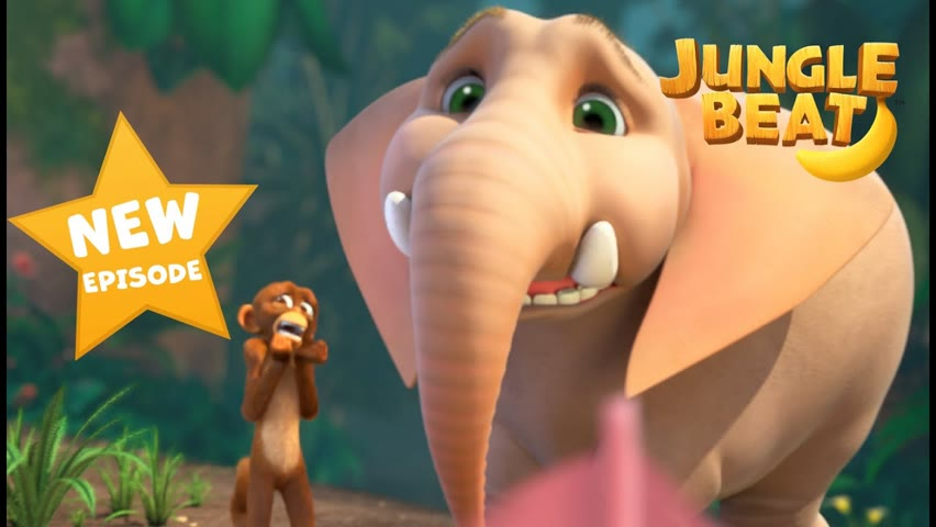 NEW EPISODE! Tickle Munki 🐒 | Jungle Beat: Munki and Trunk | VIDEOS and CARTOONS FOR KIDS 2021
