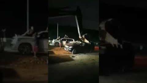 河南農民深夜自發保護河堤,抵制政府強拆洩洪,慘遭打壓,現場觸目驚心!!