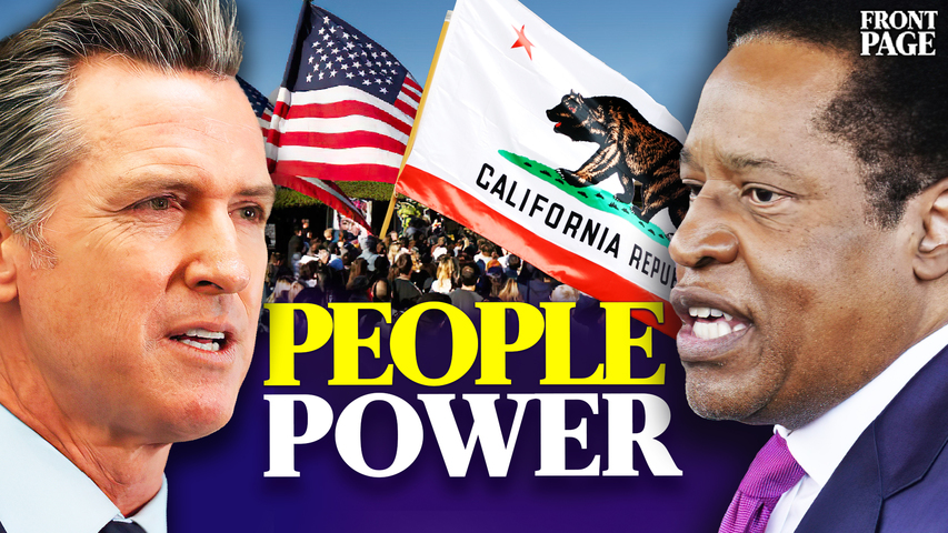 Newsom recall election is a testament to the power of the people | Front Page with Scott Goulet