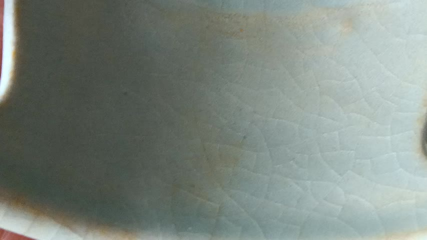 汝窑独有特征(三):蝉翼纹开片#古董#文物#北京故宫博物院#紫禁城