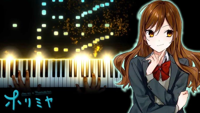 """Horimiya OP - """"Iro Kousui"""" (Piano)"""