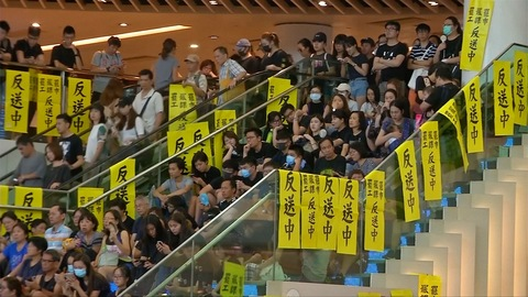 HONG KONGERS GO ON GENERAL STRIKE AS PRO-DEMOCRACY PROTESTS ESCALATE