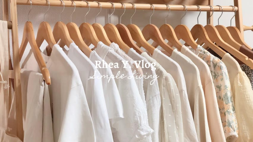 Minimalist Closet Tour, Simple Wardrobe for Summer