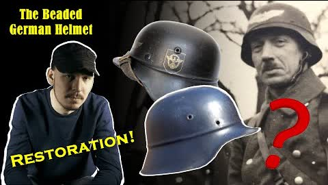 Restoring a German WW2 Beaded Helmet - WHAT is a Beaded Helmet?! HOW to tell the model Differences?!