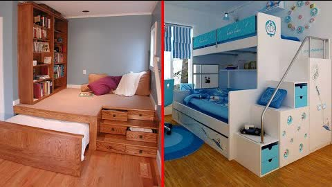 Amazing Space Saving Ideas and Home Designs -Smart Furniture ▶15