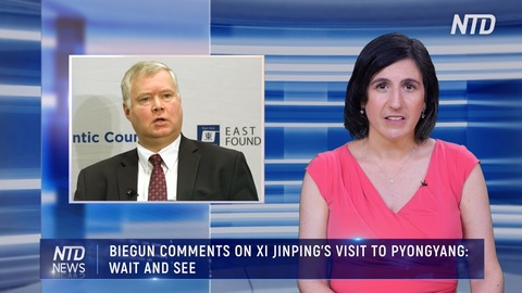 BIEGUN COMMENTS ON XI JINPING'S VISIT TO PYONGYANG: WAIT AND SEE
