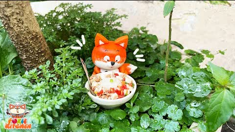 [ENGSUB] Lunch box #10 - Szechuan Tofu   ASMR Cooking