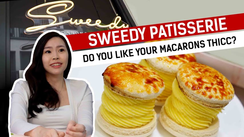 Do you like your macarons thicc? : Food Story - Sweedy Patisserie