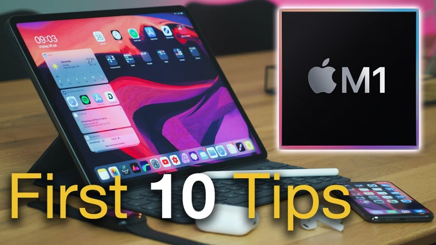 NEW iPad Pro 2021 M1? - First 10 Things To Do!