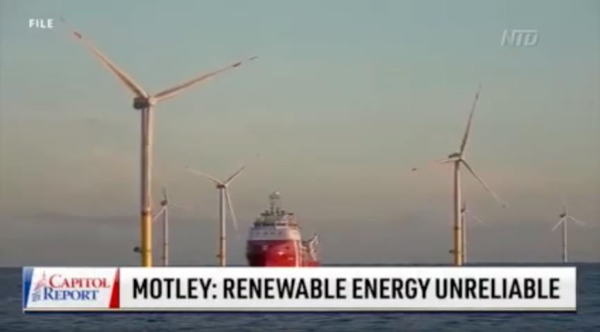 Expert: Renewable Energy Unreliable