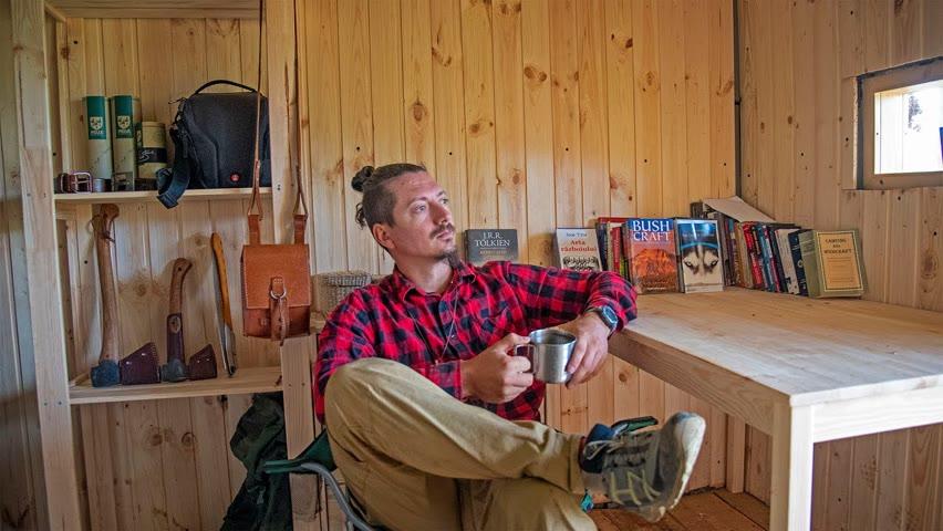 Am renovat interiorul cabanei