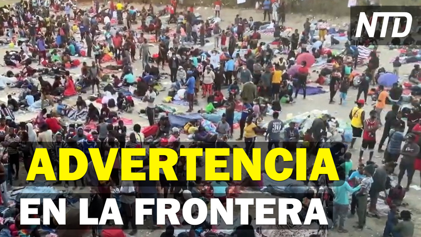 Mayorkas visita campamento de migrantes; Extranjeros podrán entrar vacunados a EE. UU. | NTD