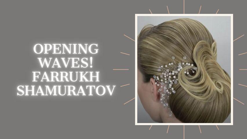 Opening waves! Farrukh Shamuratov