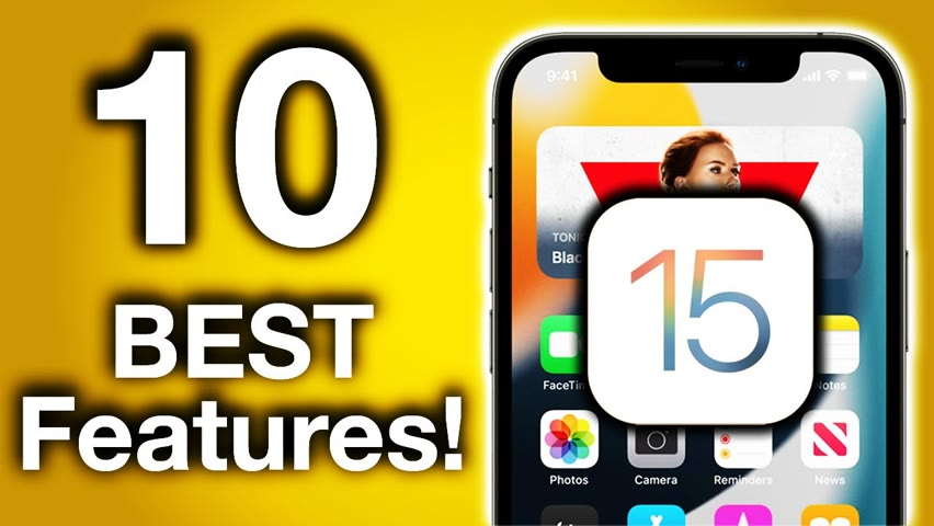 iOS 15 - Top 10 Features!
