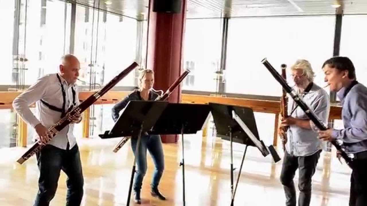 G.Rossini  Largo al Factotum for 4 bassoons