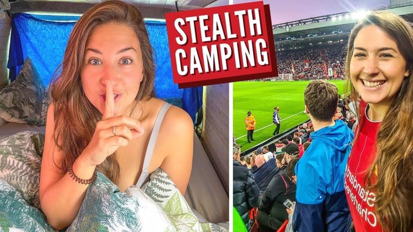 Liverpool Stealth Camping | City Vanlife UK