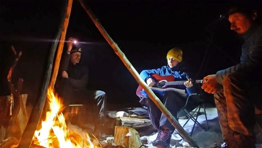 Cântece iarna lângă foc - Ana Teodora la Cabană