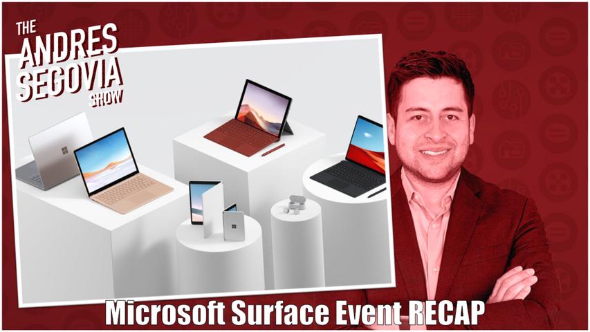TECH TALK EP13: Microsoft Surface Event RECAP