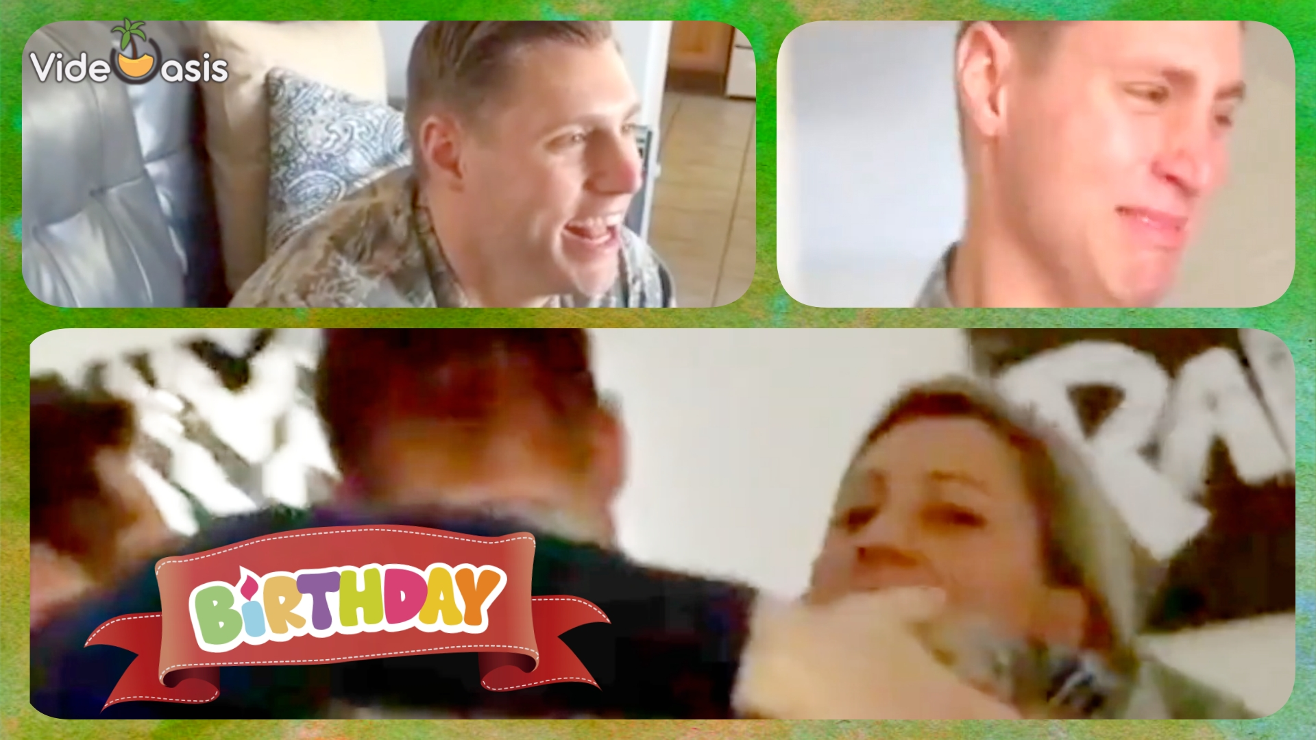 The US serviceman got a big surprise on his birthday |VideOasis