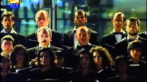 """Coro  & Orquestra do TNSC -  """"Va pensiero"""" - Nabucco - (Verdi)"""