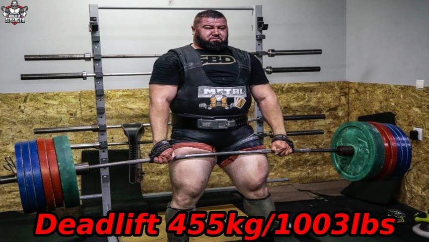 The Deadlift Monster Nedzim Ambeskovic