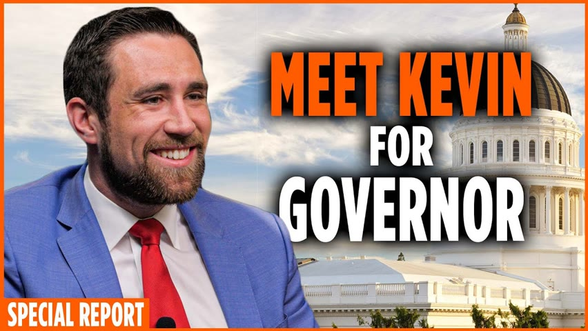 California Candidate for Governor, Kevin Paffrath