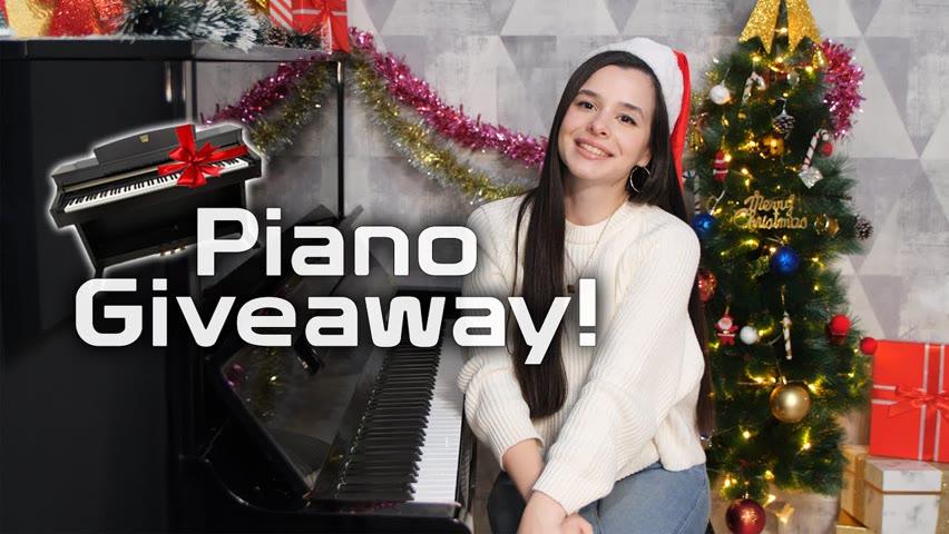 I GIVE AWAY MY PIANO !!!!   Merry Christmas 🎄🎁✨