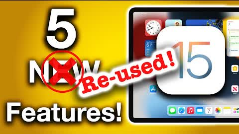 iPadOS 15 Top 5 Features - Are The iPad Features Really NEW..?