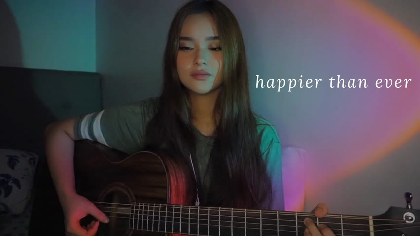 Happier Than Ever   Billie Eilish   Cover