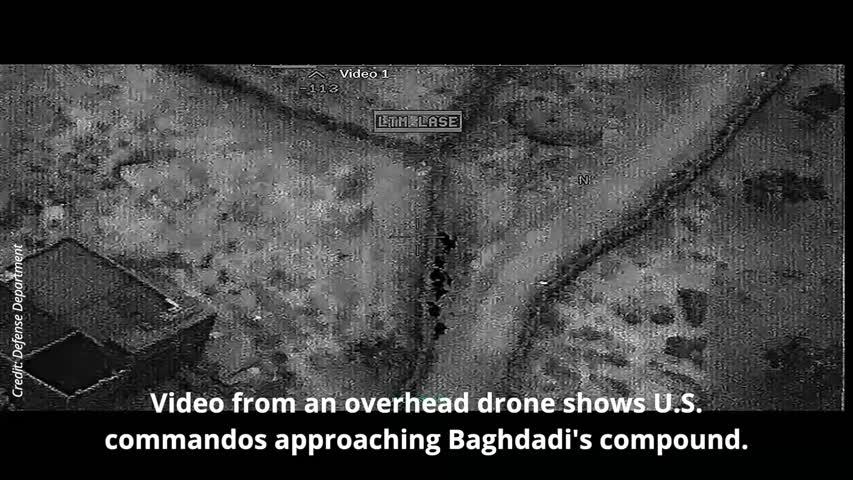 U.S. releases Baghdadi raid video, warns of likely retribution attack