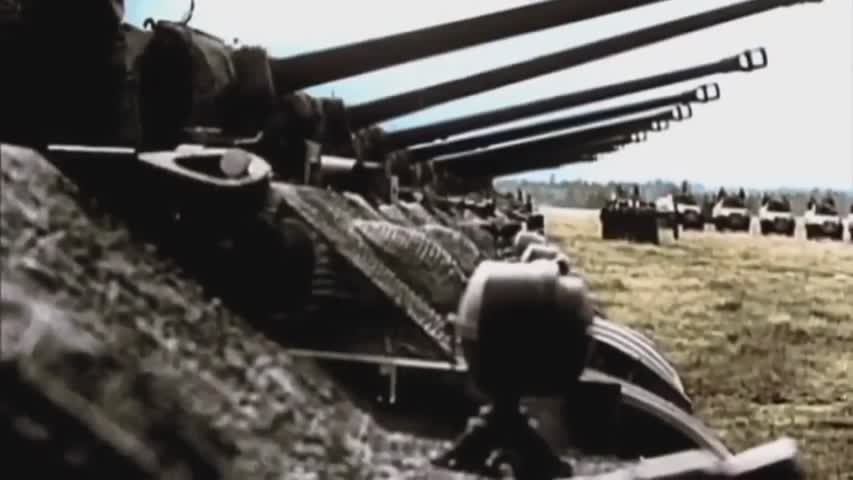 Panzerlied - Battle of the Bulge Historical Version
