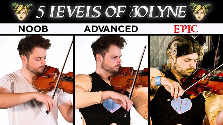 5 Levels of Jolyne's Theme: Noob to Epic