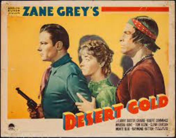 Desert Gold 1936 Western Buster Crabbe Tom Keene Monte Blue