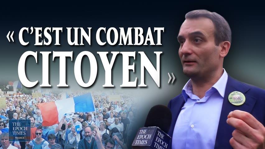 Florian Philippot : Le monde ne comprendrait pas que la France tombe dans l'apartheid et la tyrannie