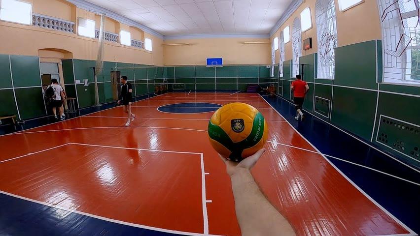 Волейбол от первого лица Александра  | Лучшие моменты | 123 episode