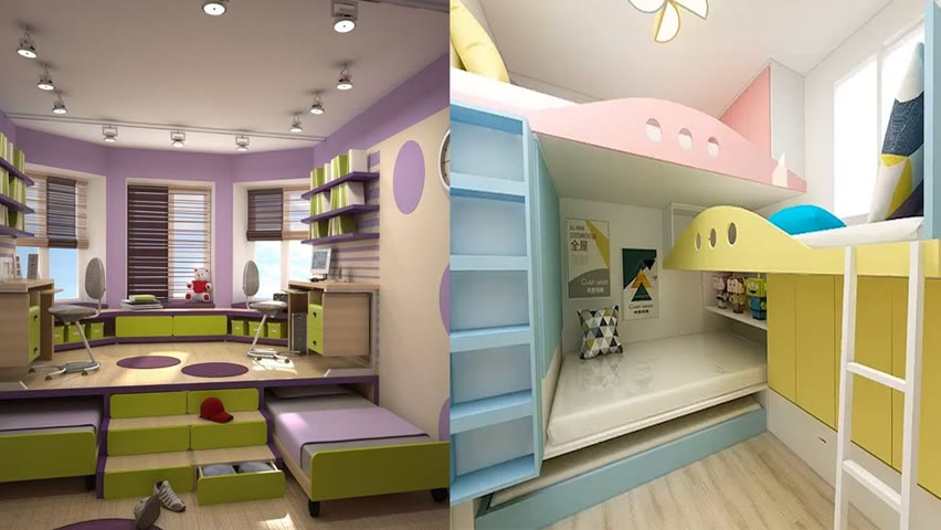 Creative & Smart STORAGE Ideas For Your SMALL Apartment | Space Saving Furniture! ▶7