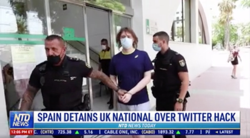 Spain Detains UK National Over Twitter Hack
