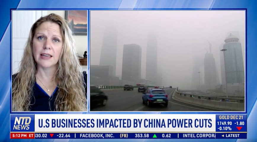 US Businesses Impacted by China Power Cuts